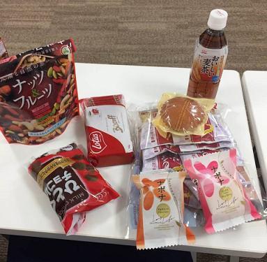2018年度茶菓子(予定)