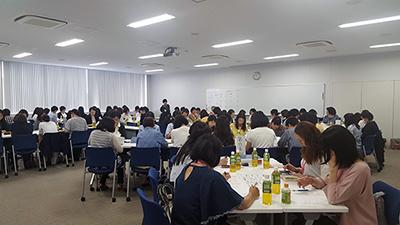 2018年度第1回幹事会の様子